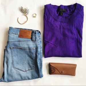 J. C r e w // Tippi Sweater - Purple